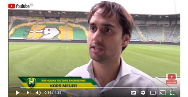 Sleep challenge ADO Den Haag football