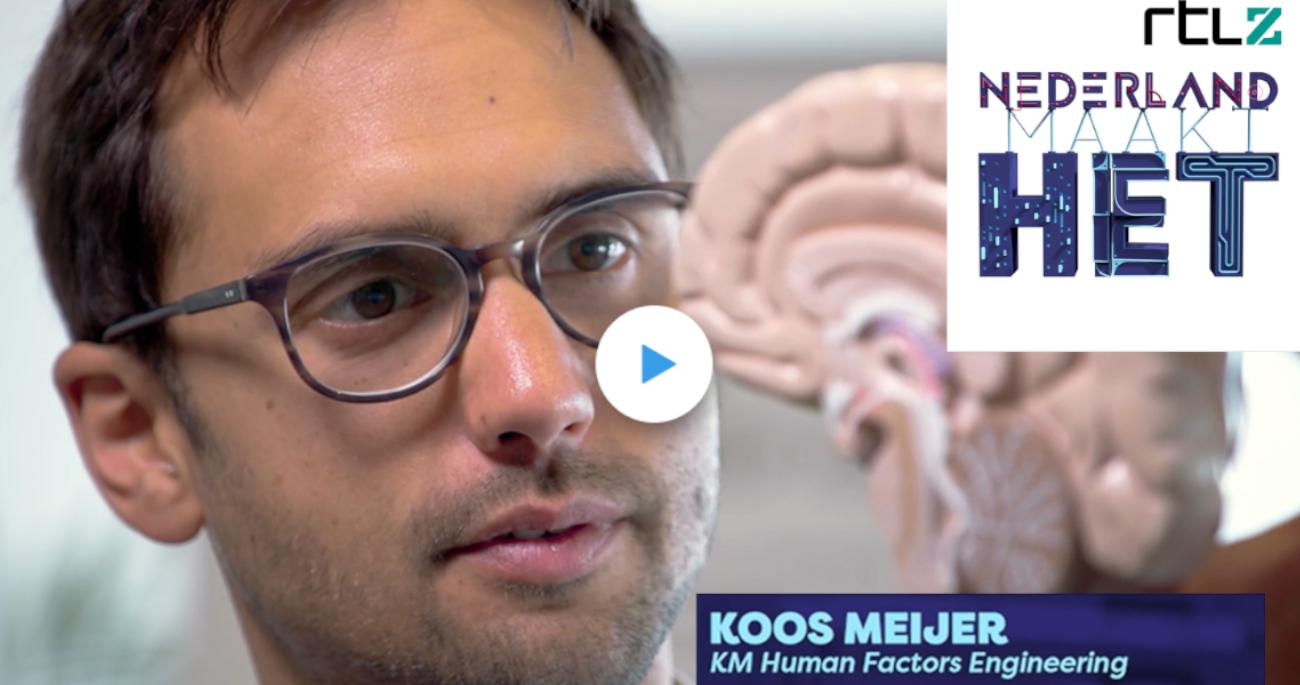 Brain training interview at RTLZ